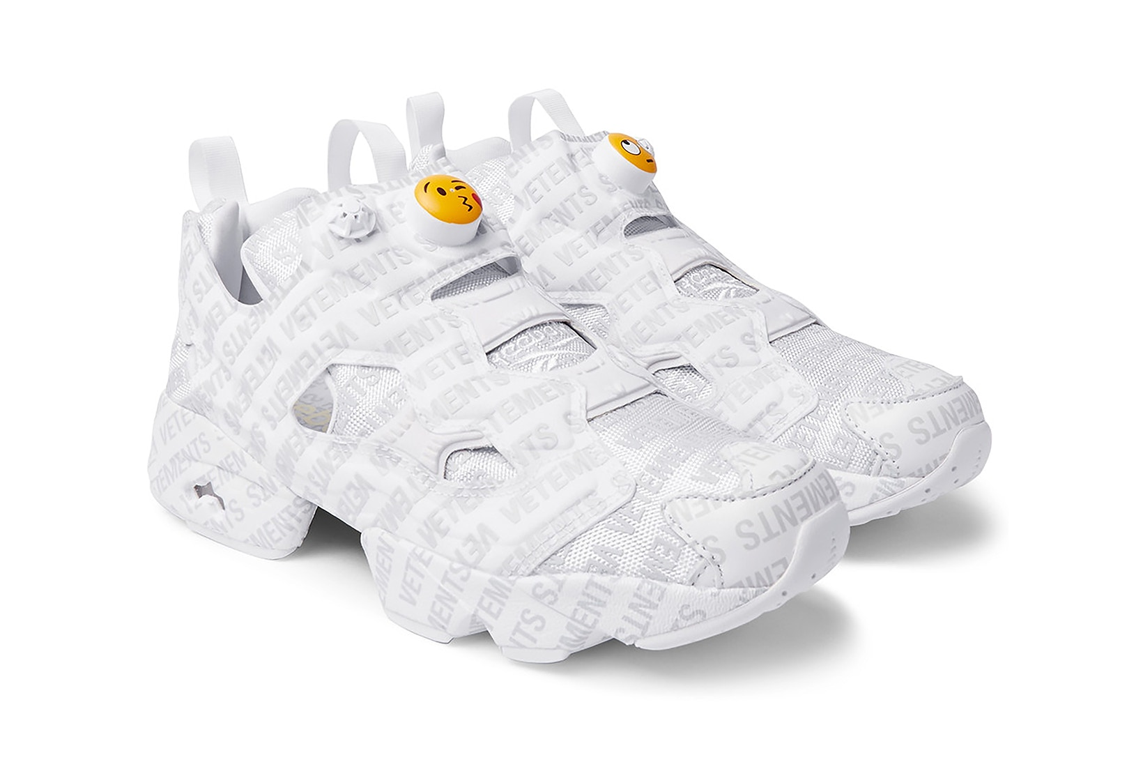 You Can Cop The Vetements x Reebok InstaPump Fury Emoji Sneakers Now