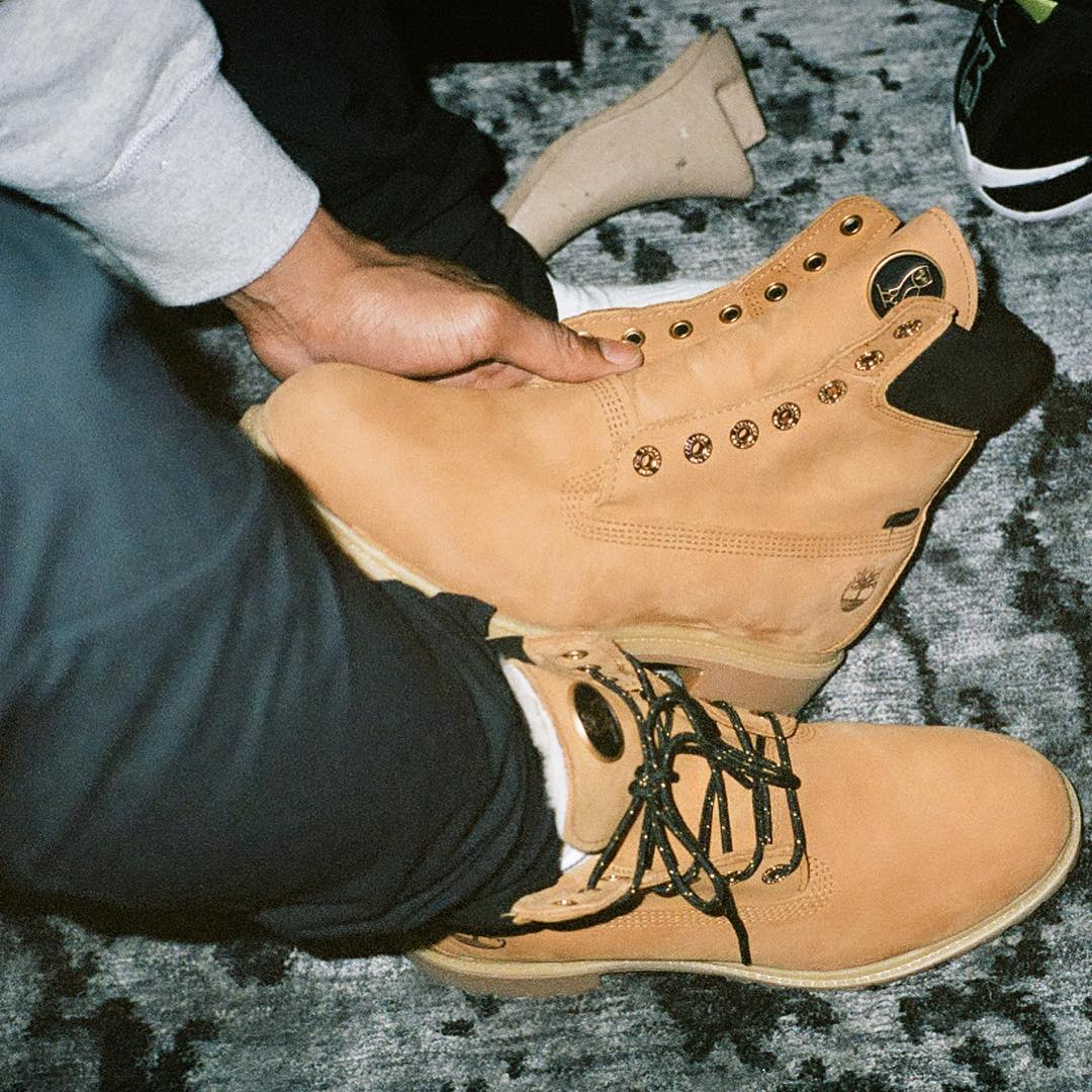 SPOTTED: Drake Teasing the OVO x Timberlands Collab