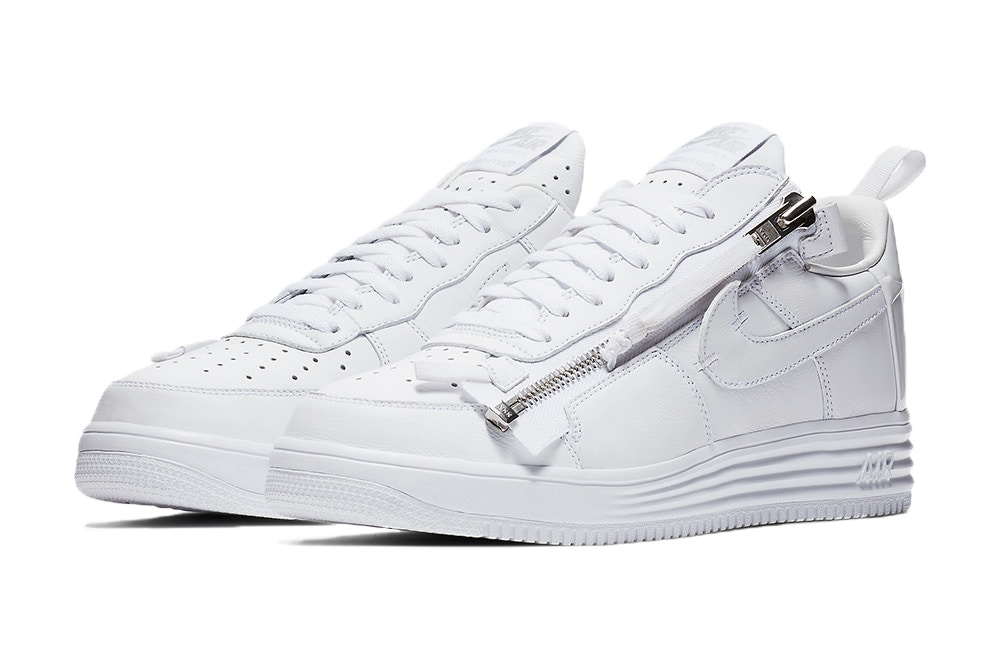 Get a Closer Look at the ACRONYM x Nike Lunar Force 1