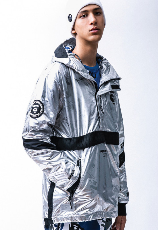Take a Peek At The Outerwear Within The AAPE by A Bathing Ape Lookbook