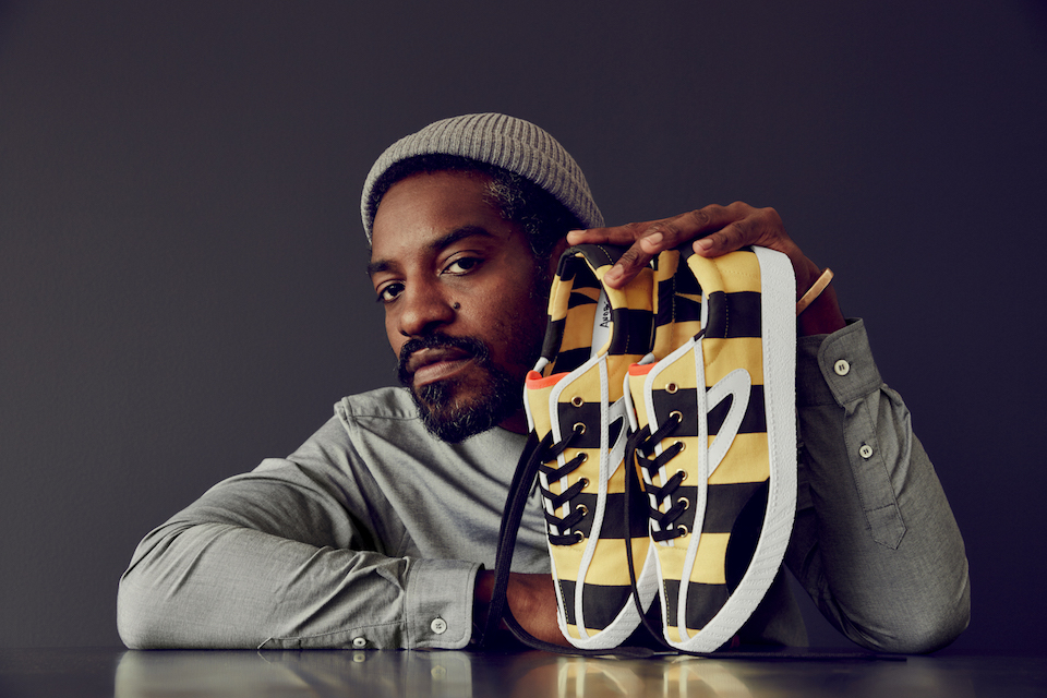 Tretorn Brings Us André 3000's First Footwear Collection