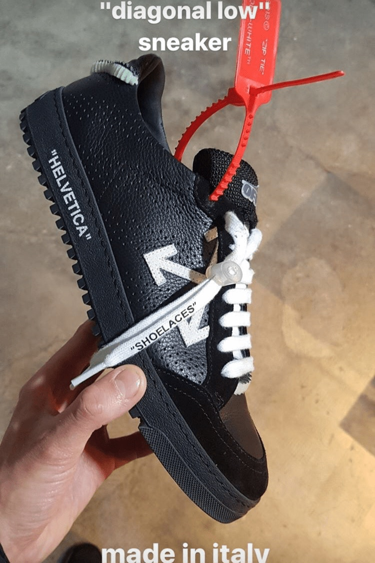 Off-White™ Reveals Footwear From Their Spring/Summer 2018 Collection