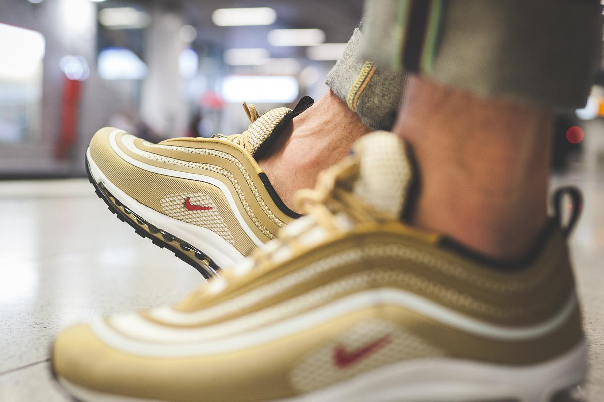 "Take a Look at the Air Max 97 Ul '17 in ""Metallic Gold"""
