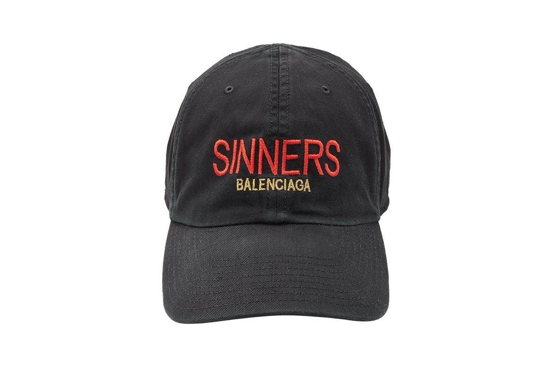 Balenciaga Release SINNERS Capsule Collection
