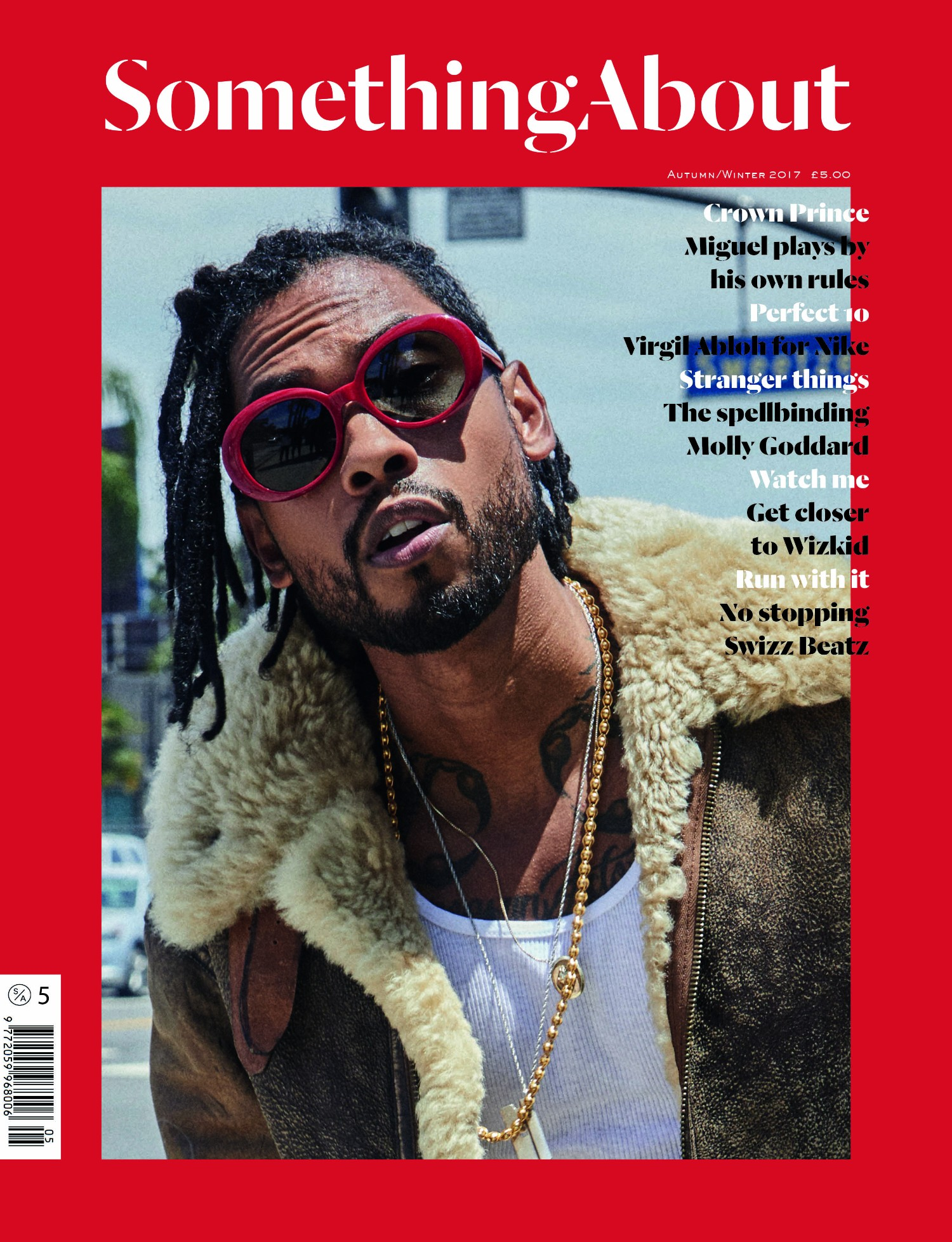 Miguel Covers 'SOMETHING ABOUT' Magazine