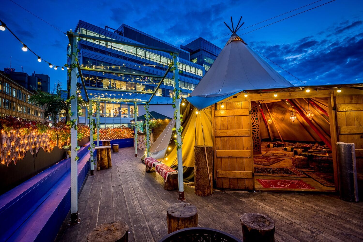 Queen of Hoxton Brings Marrakesh to Shoreditch Rooftop