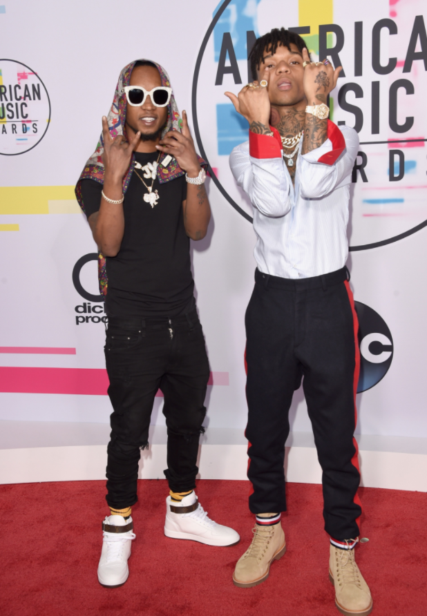 Red Carpet: American Music Awards Men's Style