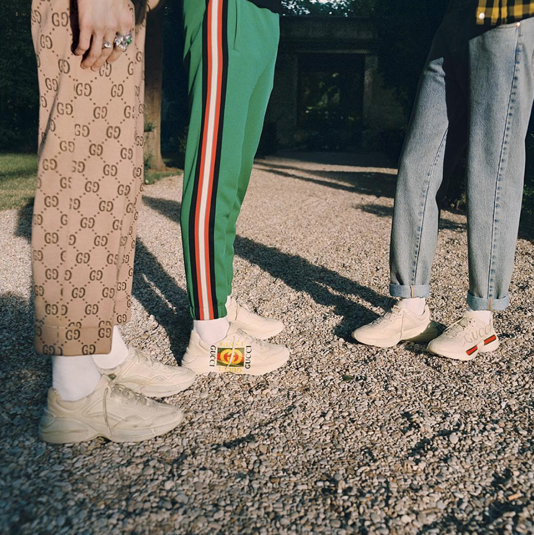 Gucci Announce New Rhyton Sneaker