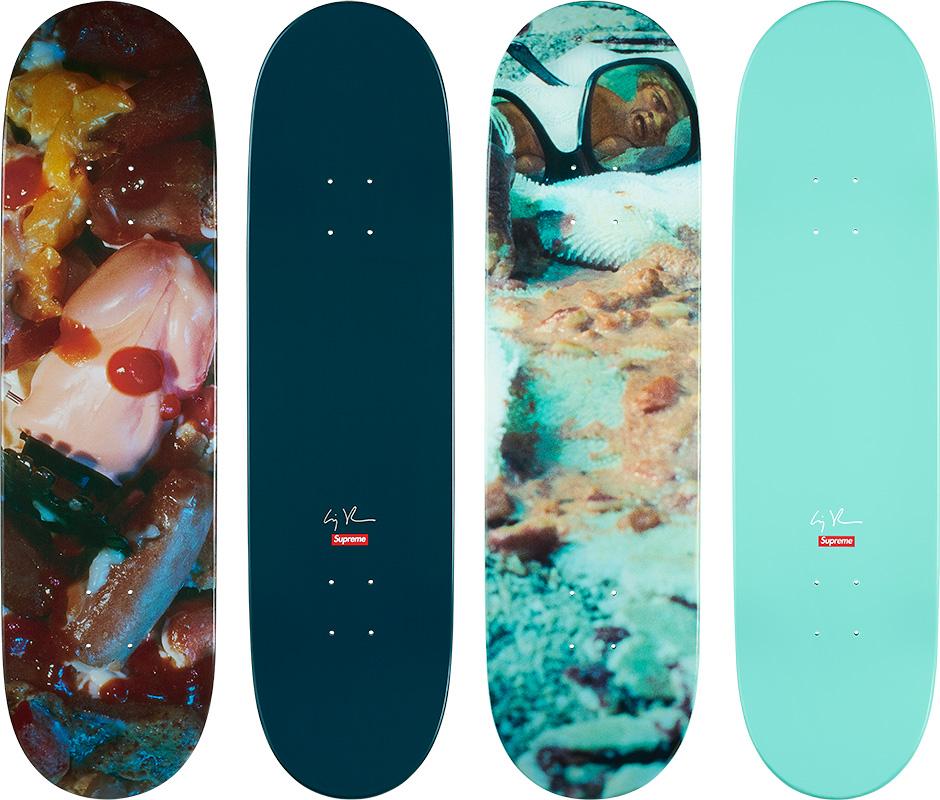 Supreme Collaborate With Cindy Sherman On Two Skateboard Decks