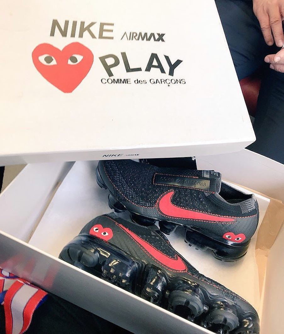 Take A Look At This New Pair Of Nike x Comme des Garçons Shoes