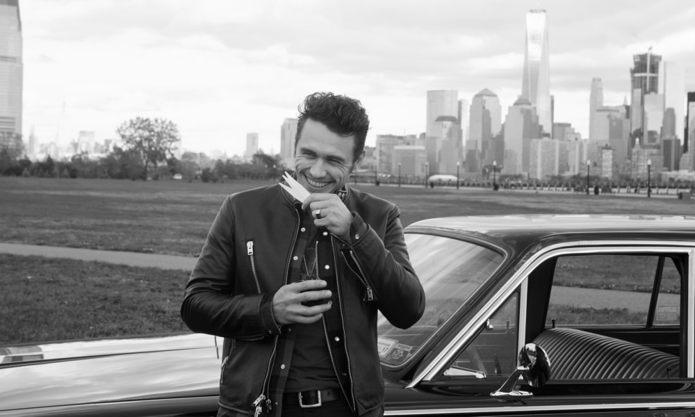 James Franco on Fashion, Fragrance & New York City