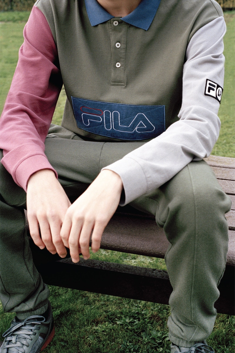 Take a Look at Liam Hodges and FILA's New Capsule