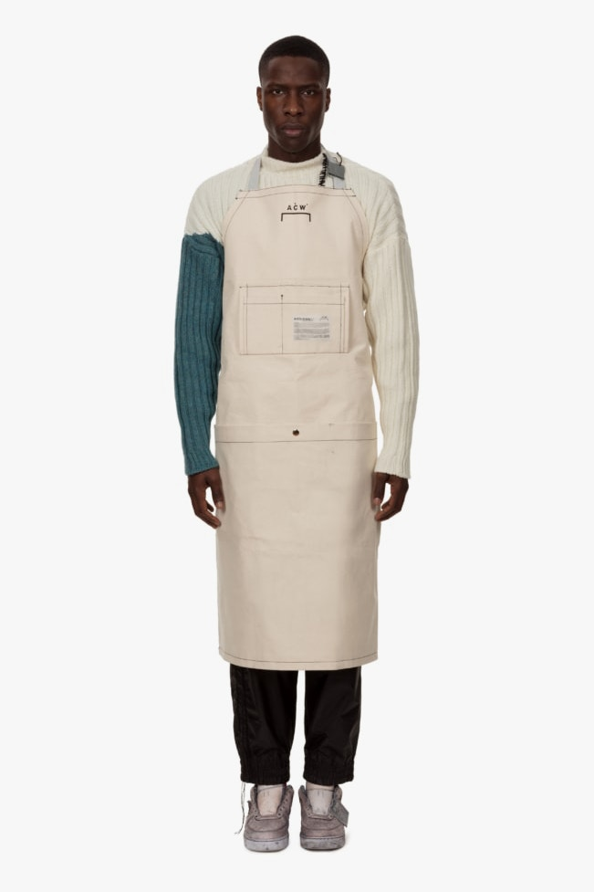 Introducing A-COLD-WALL*'s Canvas Studio Apron and Utility Bag