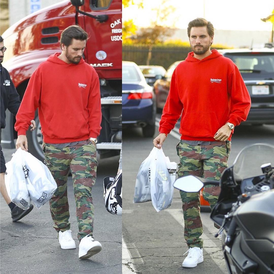 SPOTTED: Scott Disick Sporting Balenciaga, Ralph Lauren and Nike