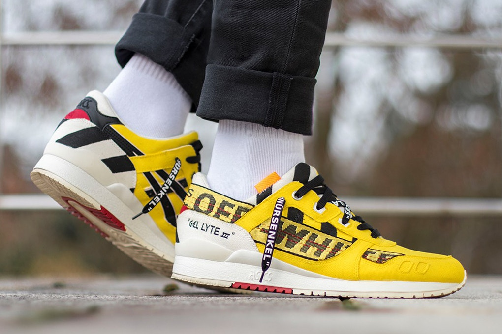 Take a Look at These Custom Off-White™ ASICS Gel-Lyte III's