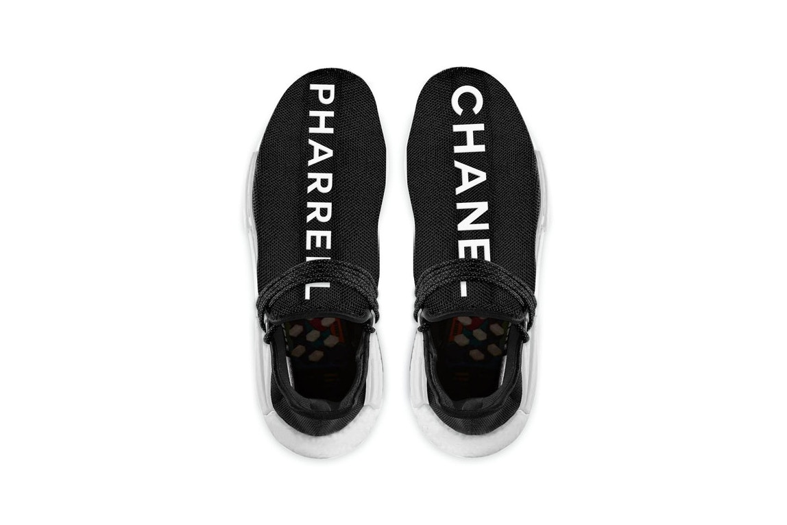 Would you Spend $25,000 for the Chanel x Pharrell x adidas NMD Hu Sneakers?