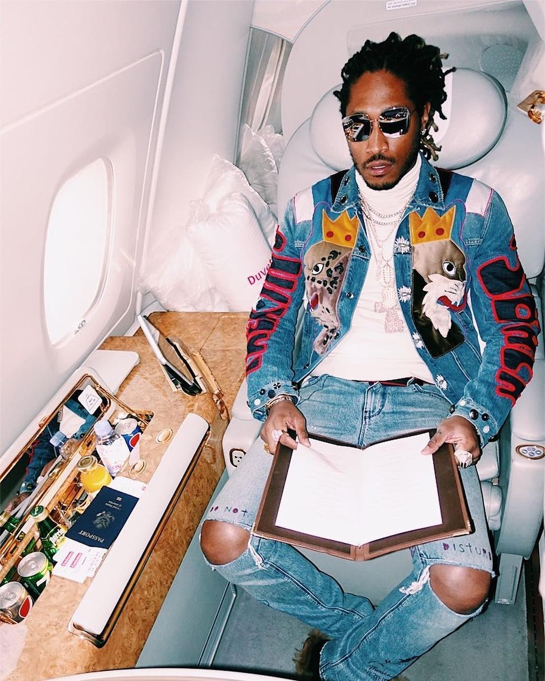 SPOTTED: Future in Dolce & Gabbana and RtA Brand