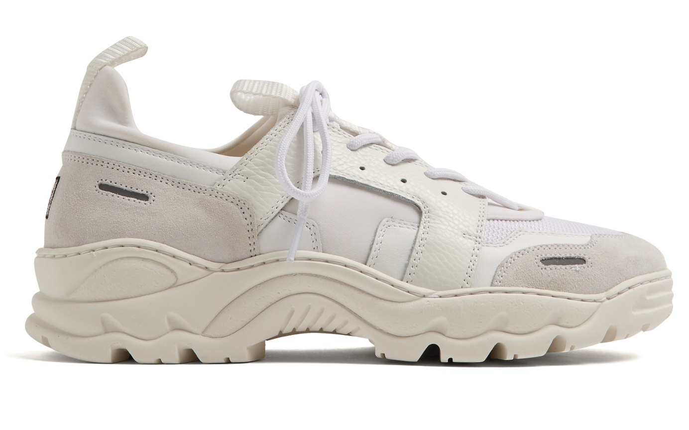 Take a Look at AMI's Contrast-Panel Low-Top Trainers