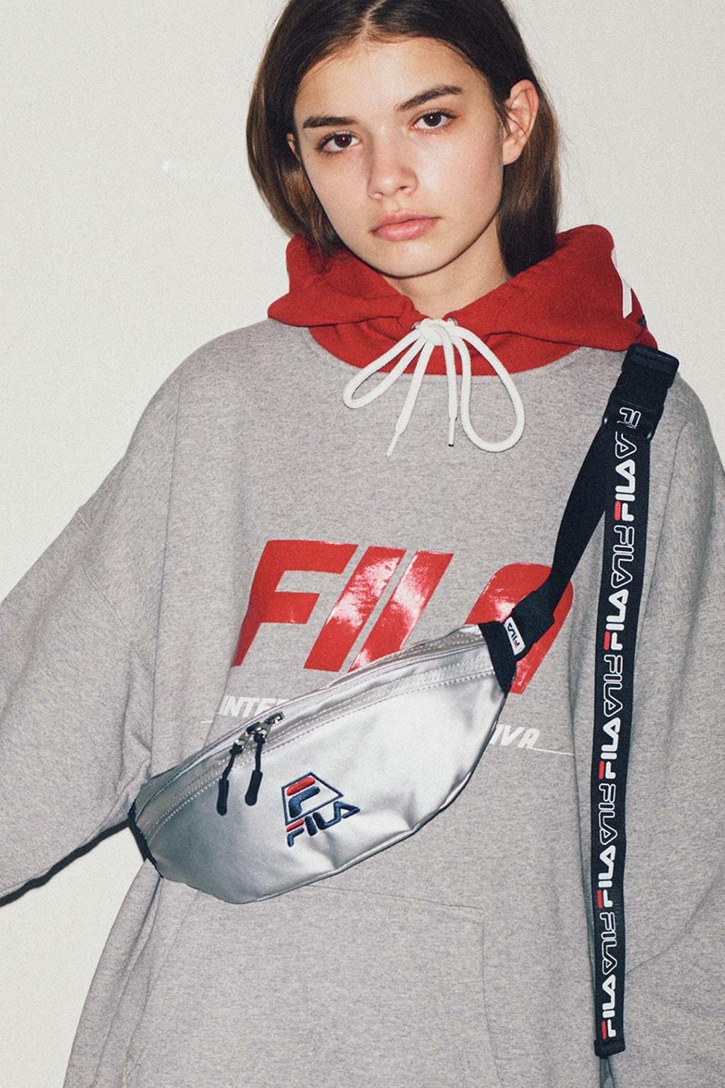 Monkey time x FILA collaborate Retro Sportswear Collection