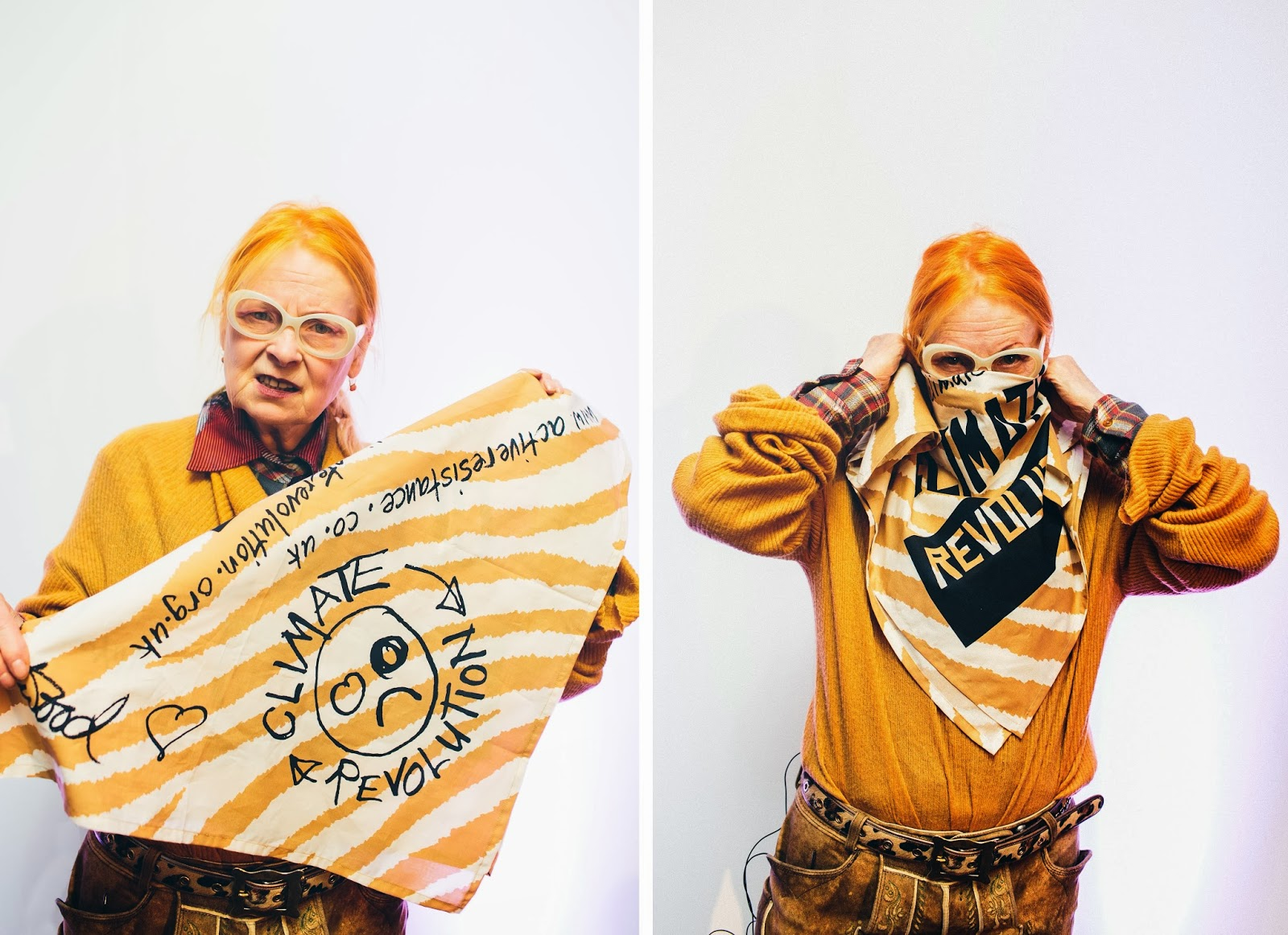 Vivienne Westwood Will Swap London Fashion Show For a Digital Display