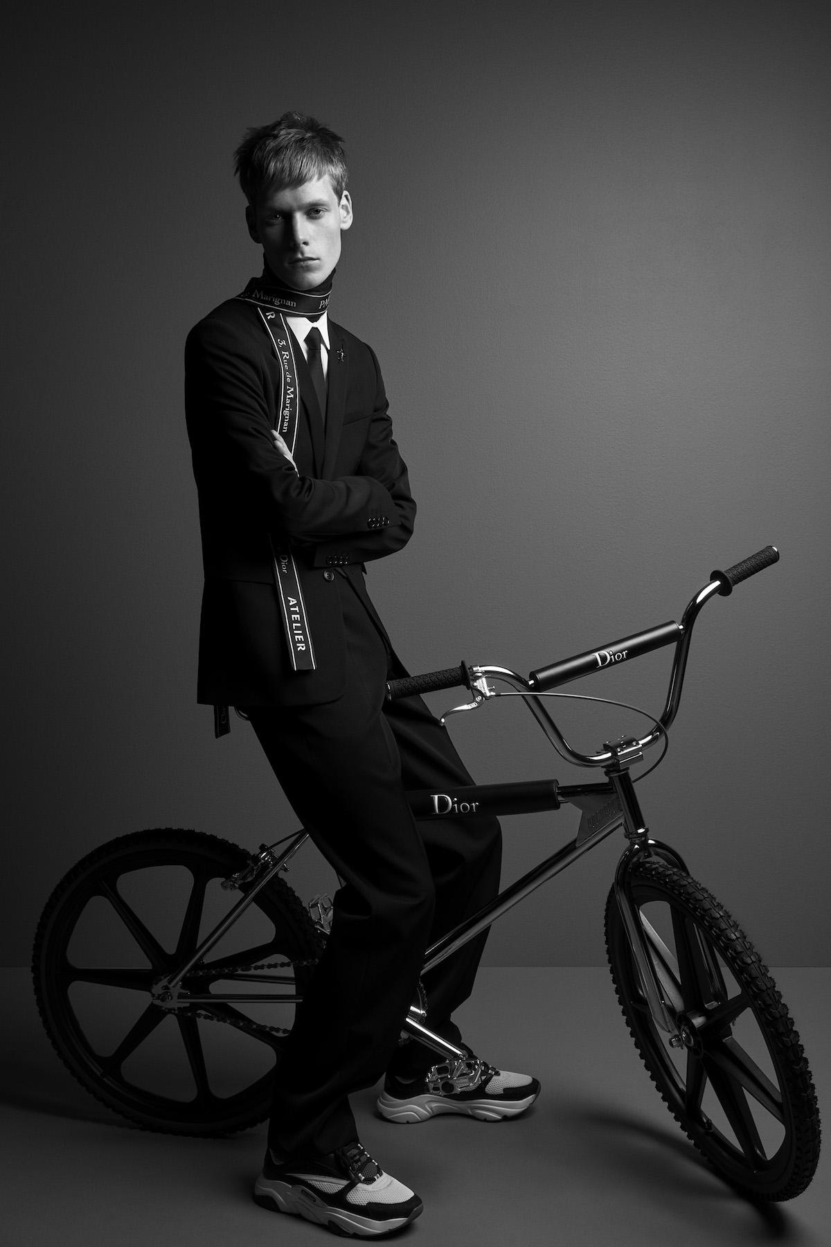 Dior Homme Reveals New Sneaker & Dior Homme Bike