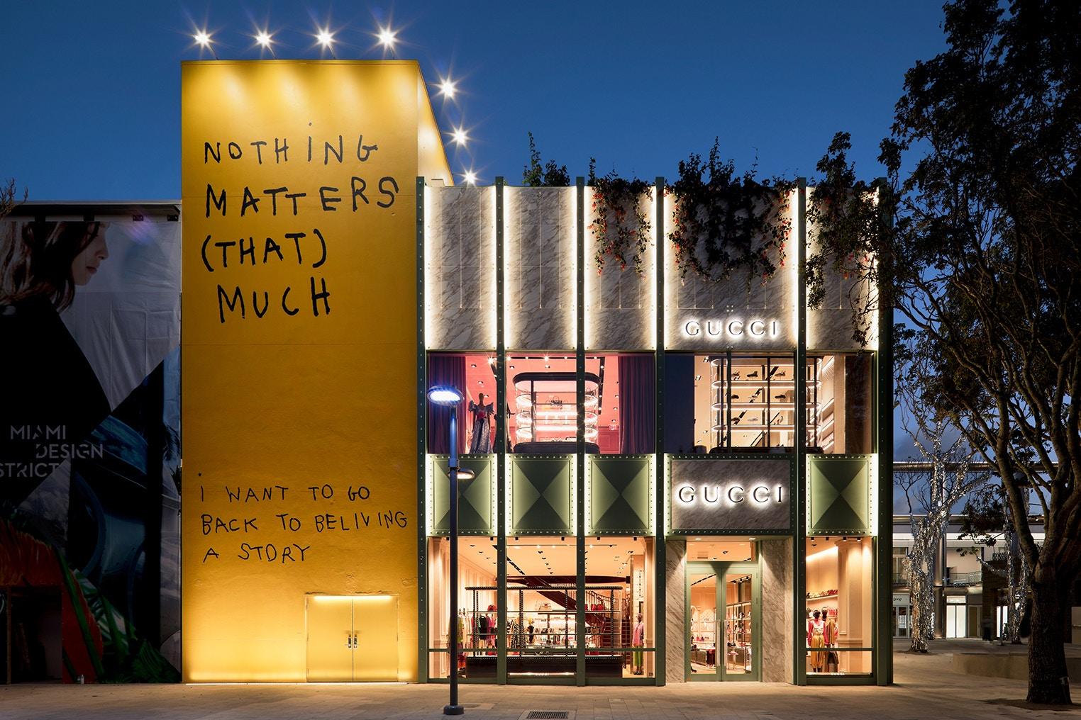 Gucci Opens New Miami Store