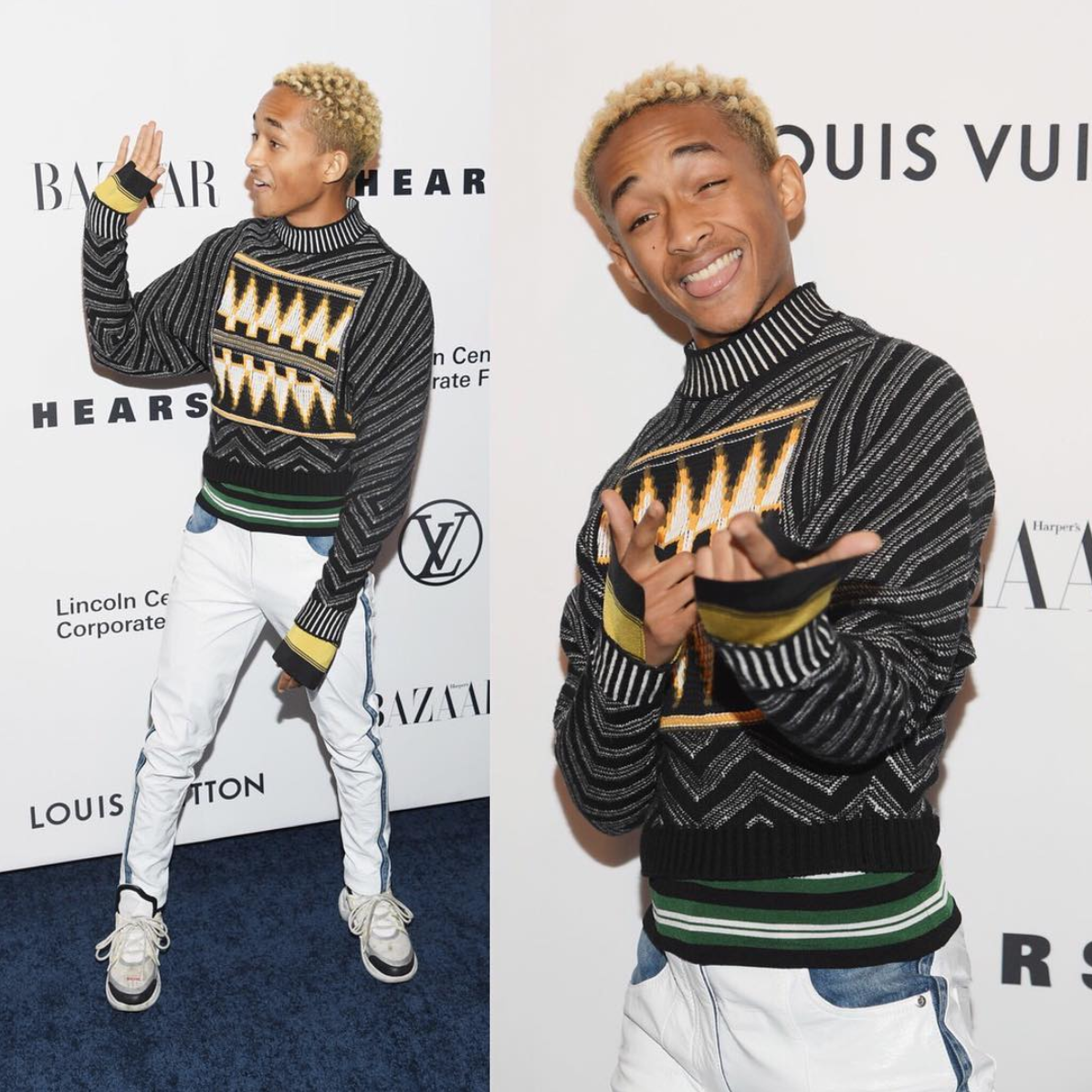 SPOTTED: Jaden Smith Flexes In Louis Vuitton SS18 Sneakers
