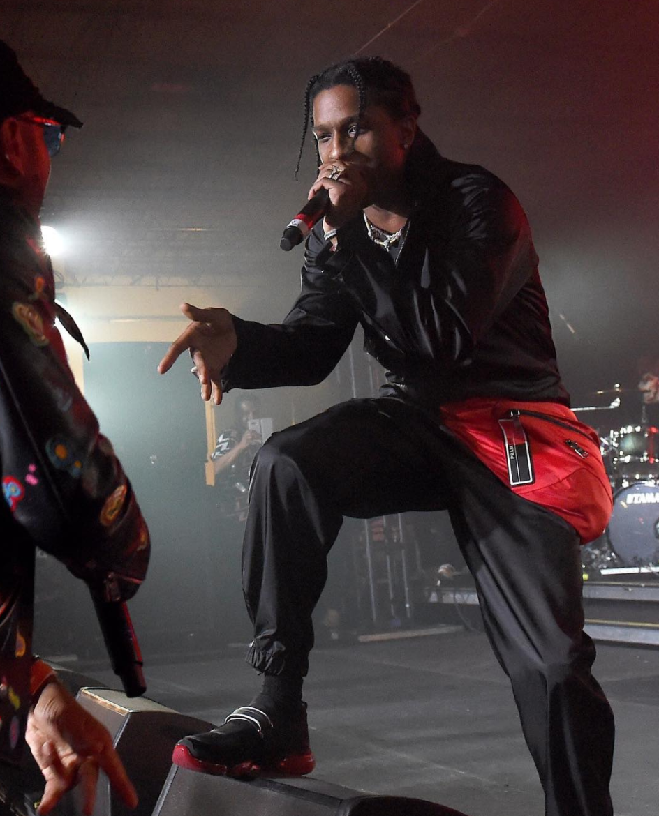 SPOTTED: ASAP Rocky In Head-To-Toe Prada
