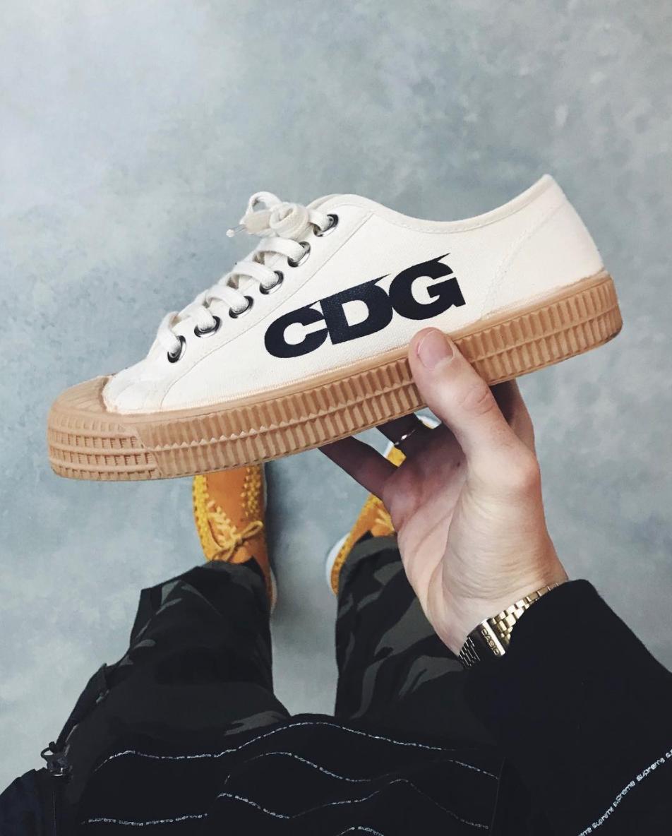 COMME des GARCONS x Novesta Sneaker