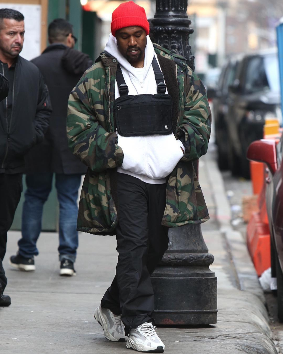 SPOTTED: Kanye West Flexes In Alyx Studio In NYC