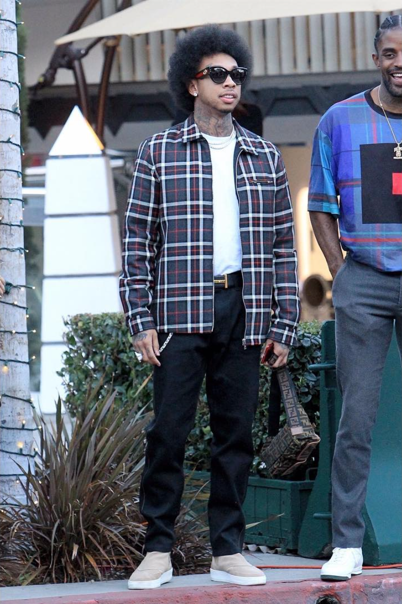 SPOTTED: Tyga out in Beverly Hills Donning Gucci, Tom Ford & Fendi
