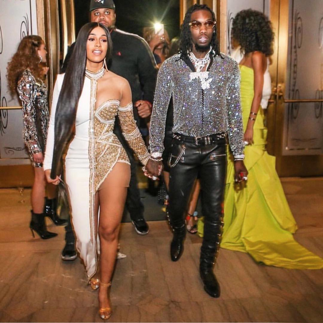 SPOTTED: Cardi B and Offset Killing it