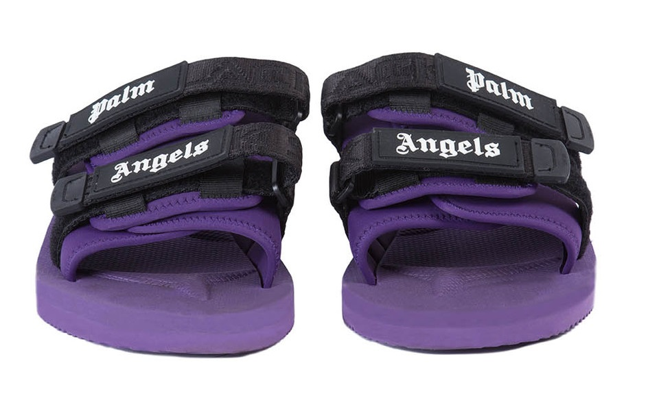 Palm Angels and SUICOKE Bring Us Purple Sliders