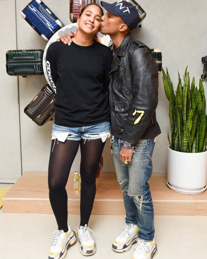 SPOTTED: Pharrell in DOVER STREET MARKET x Balenciaga, Cactus Plant Flea Market and More