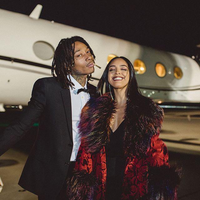 SPOTTED: Wiz Khalifa and Izabela Guedes Dressed to Impress