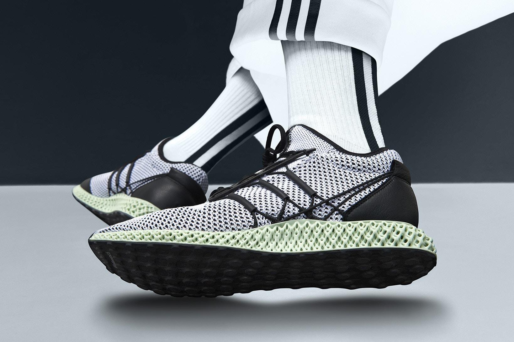 Sneaker Watch: Y-3 Reveals Their RUNNER 4D