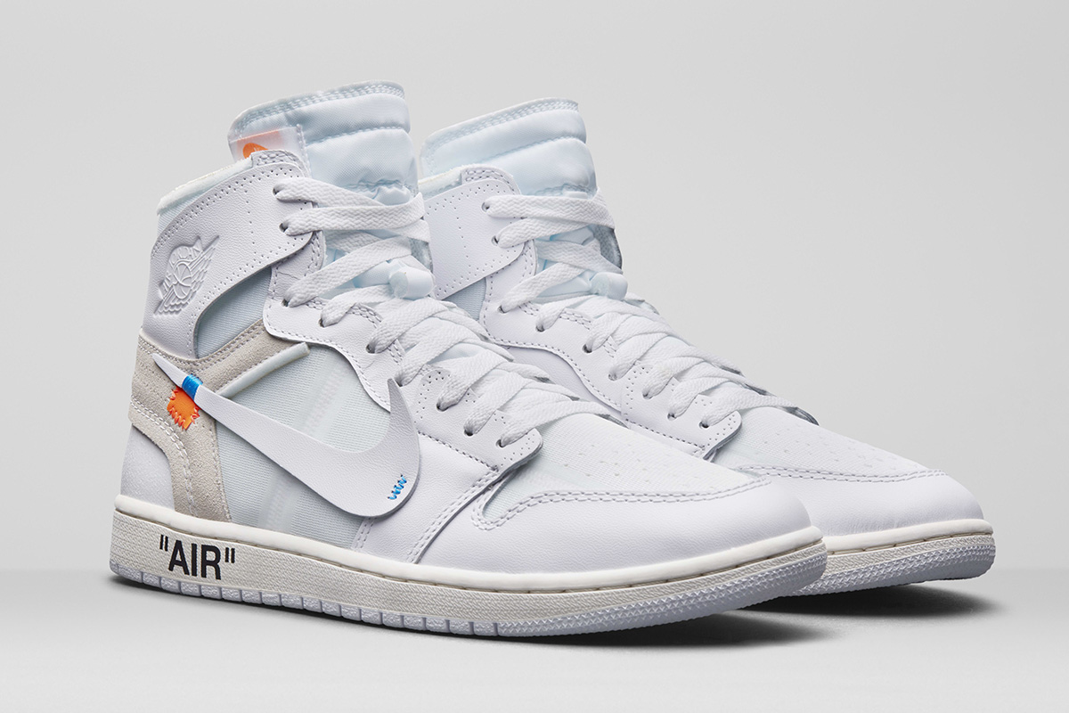 "The OFF-WHITE x Nike Air Jordan 1 ""All White"" Has an Official Release Date"