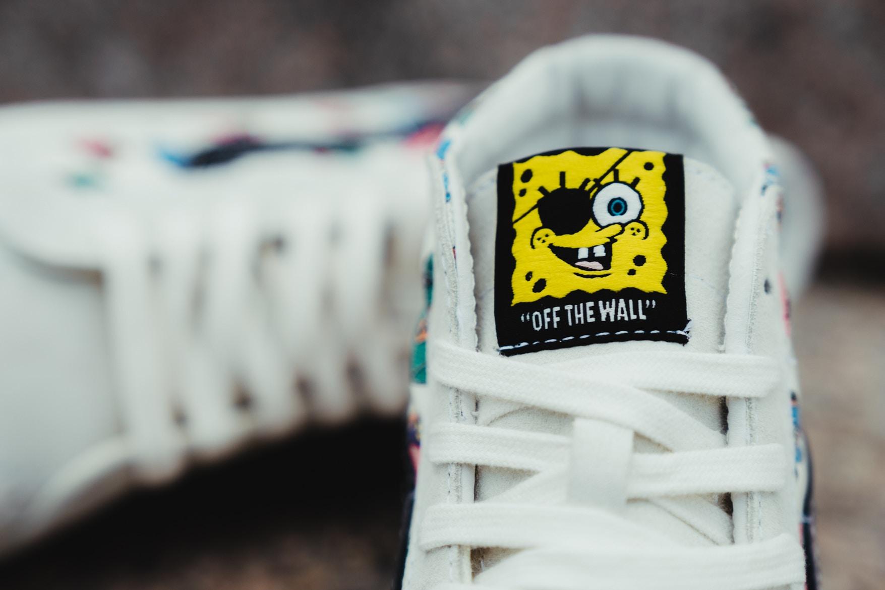 Meet the SpongeBob SquarePants x Vault by Vans Collection
