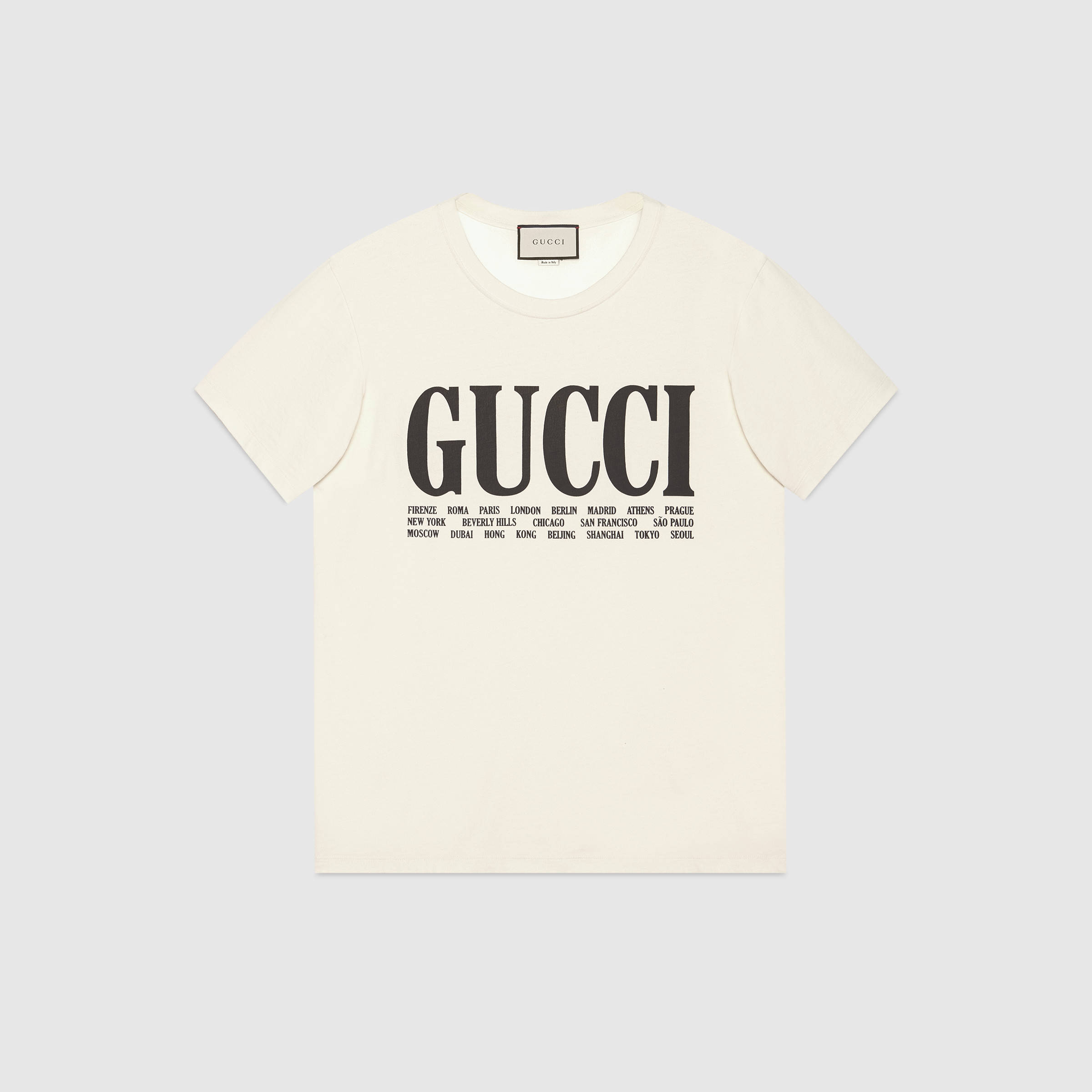 Gucci Launches New Spring/Summer 2018 Tees