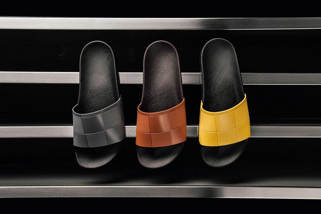 Adidas x Raf Simons Reveals Checkerboard Adilette
