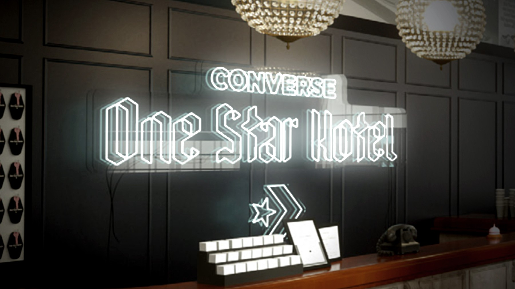 Introducing the Converse One Star Hotel
