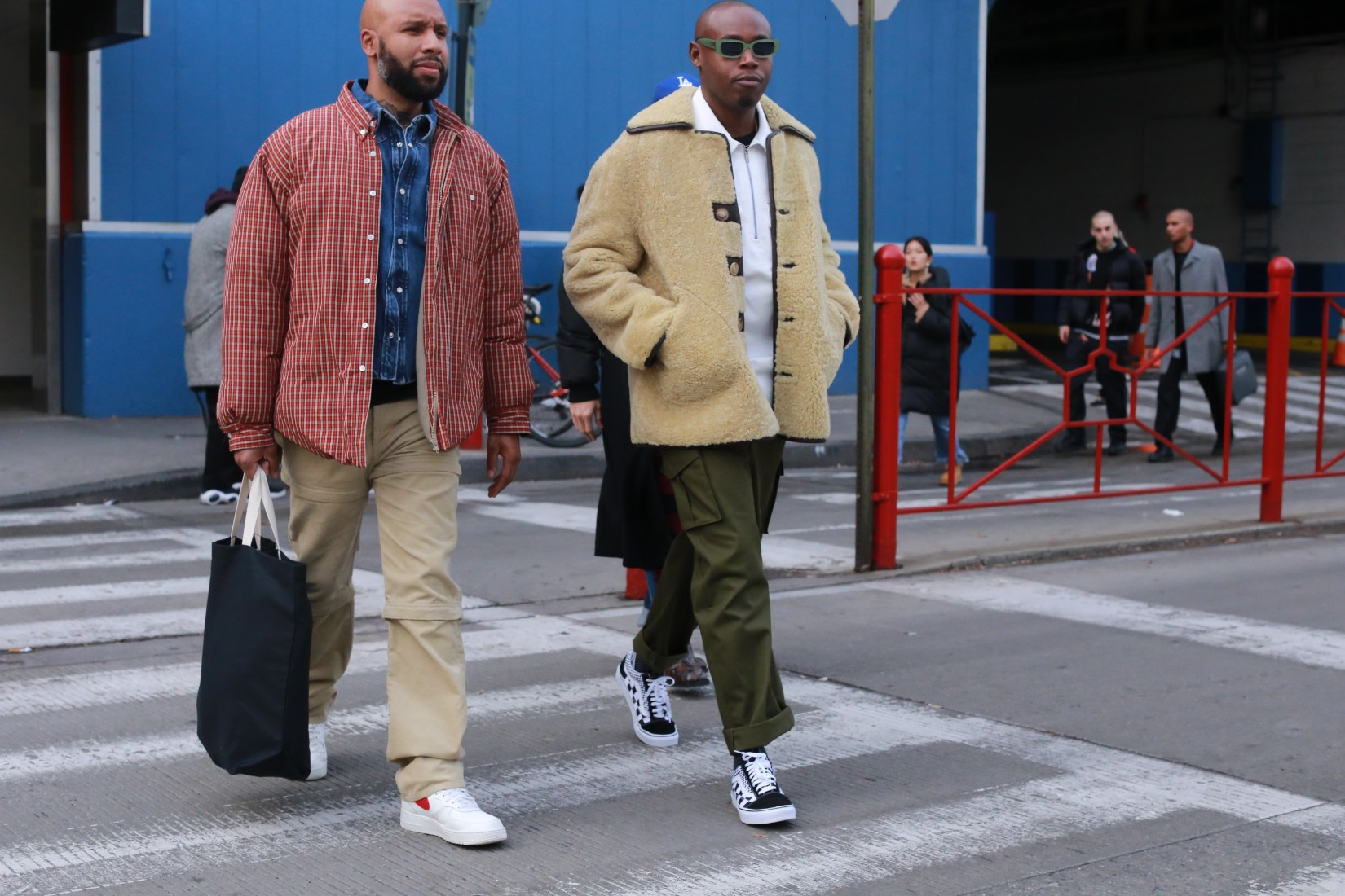 Street Style: New York Fashion Week Men's Day 2