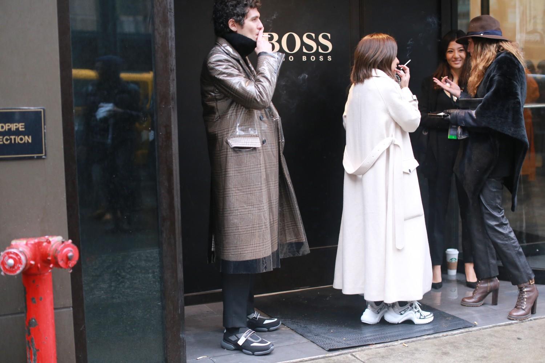 Street Style: New York Fashion Week Men's Day 3