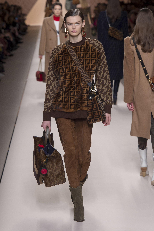 MFW: Fendi Fall/Winter 2018 Womenswear Collection