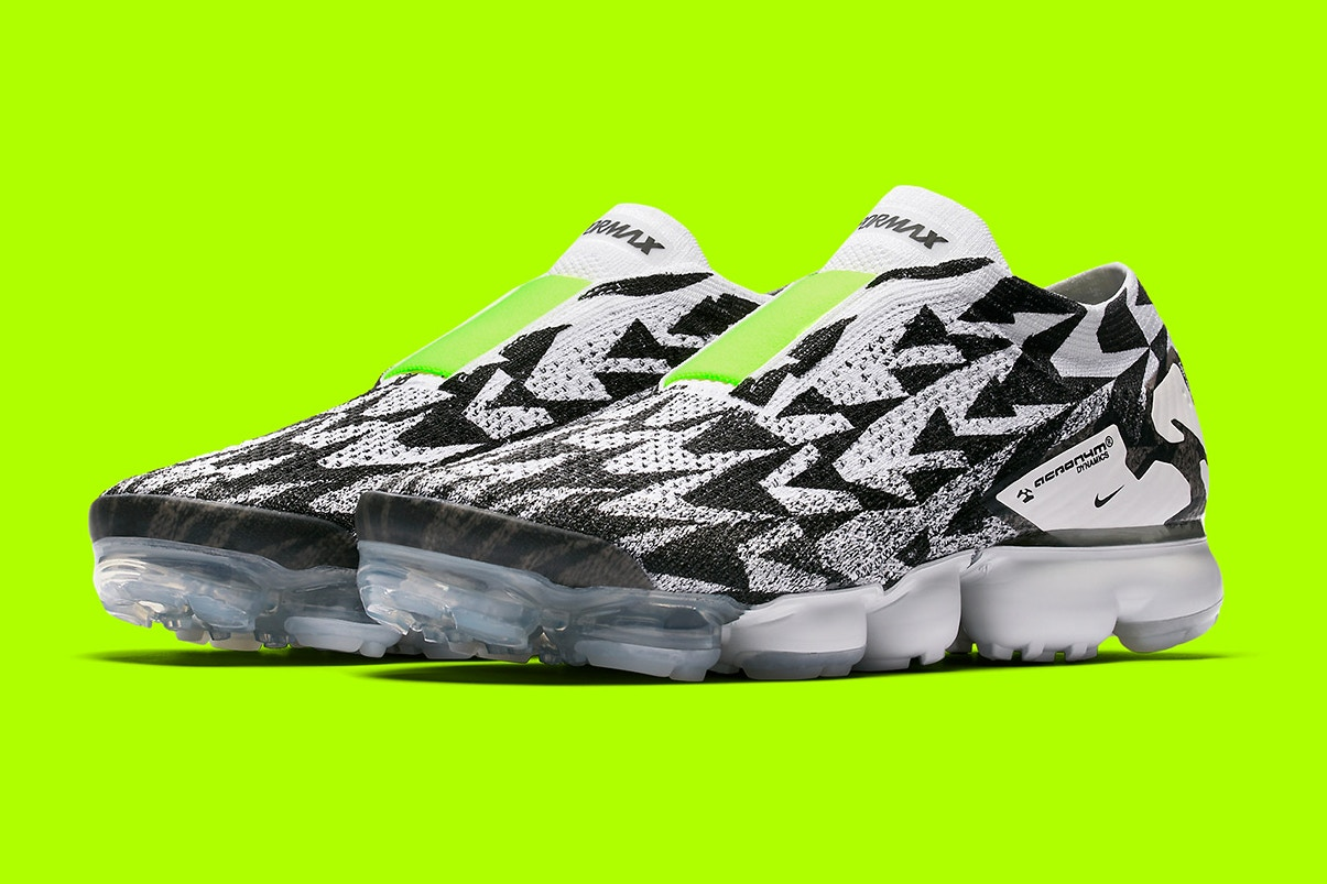 Official Imagery for the Acronym x NikeLab Air VaporMax Has Dropped