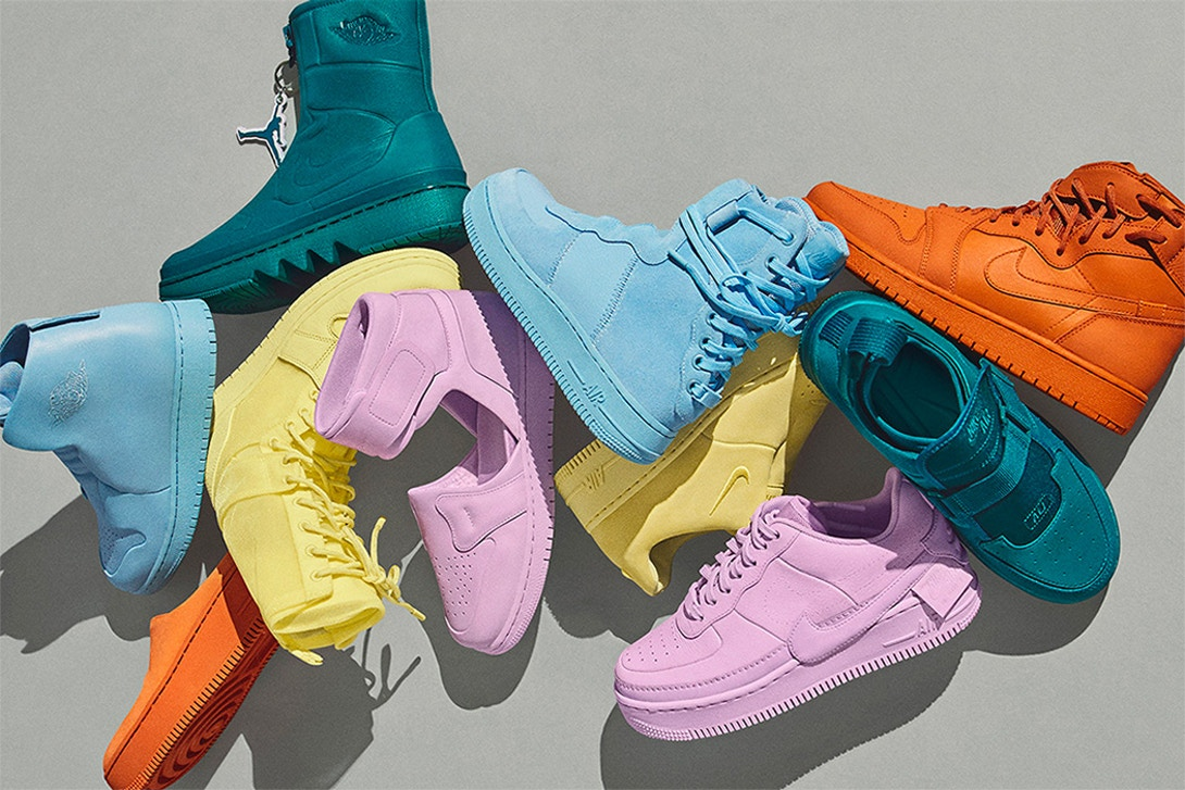 """Nike's """"The 1 Reimagined"""" Collection Drops in Spring-Ready Colours"""