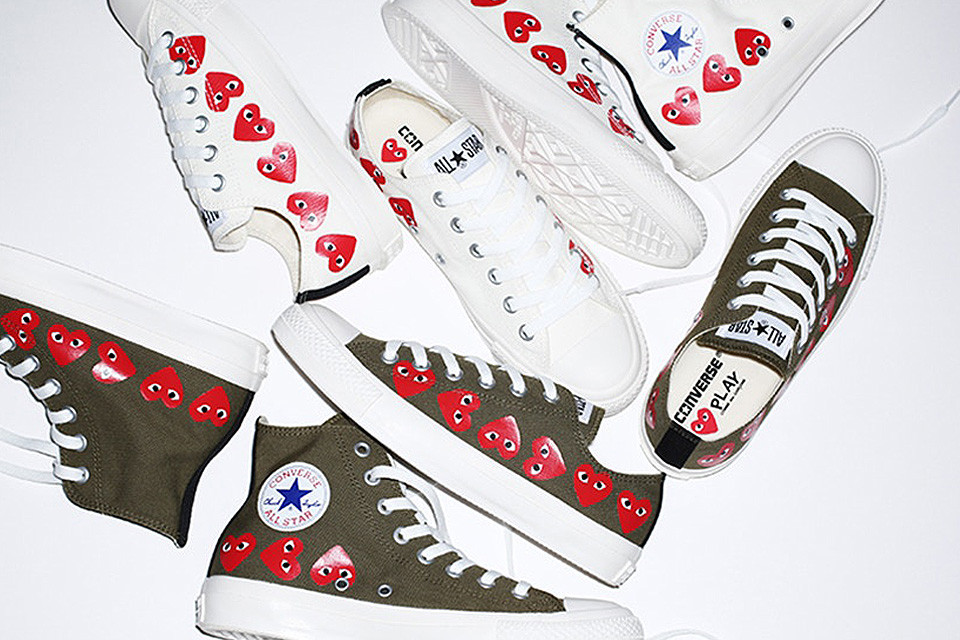 COMME des GARÇONS PLAY Are Set to Team up with Converse for All-Star Collab