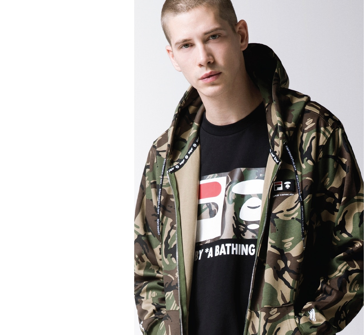 AAPE by A Bathing Ape and FILA Unveil Collaborative Collection