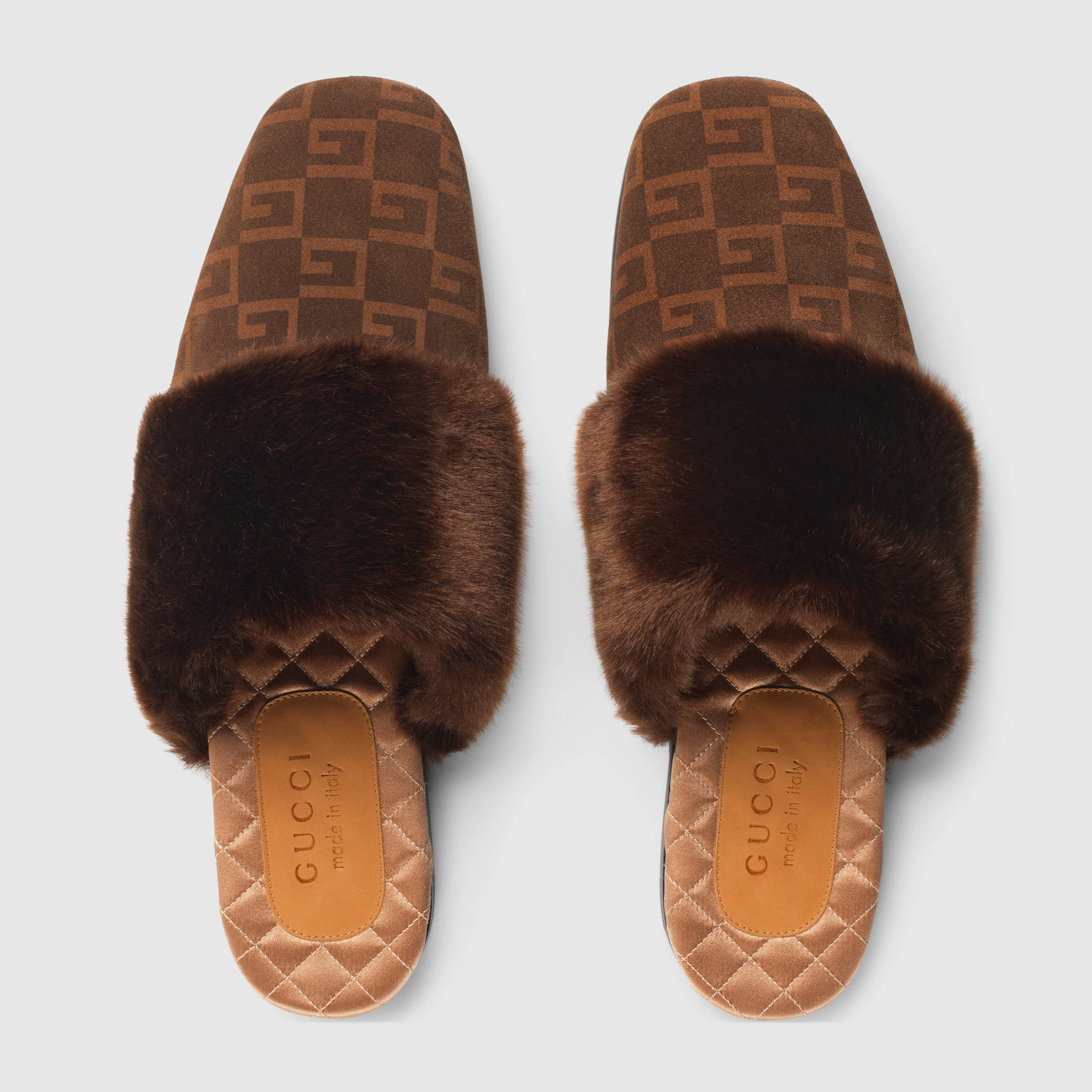 PAUSE or Skip: The Latest Gucci Faux Fur Slippers