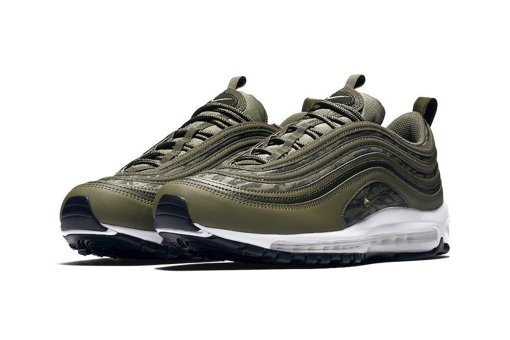 """Nike Revamps the Air Max 97 With """"Tiger Camo"""" Pack"""
